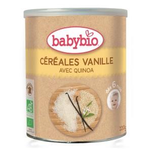 BABYBIO CÉRÉALES VANILLE...