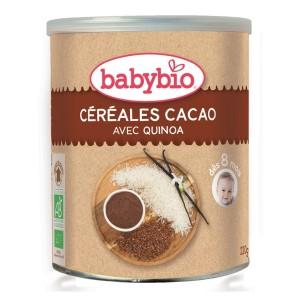 BABYBIO CÉRÉALES CACAO BIO...