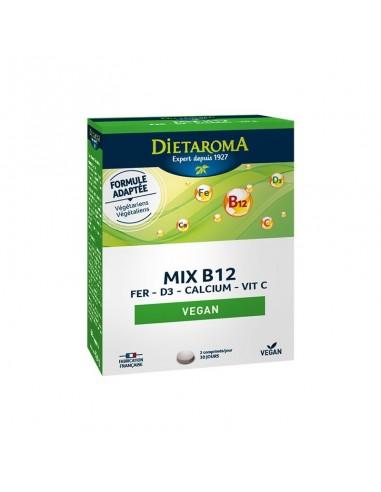 MIX B12-FER D3-CALCIUM-VITC  60...