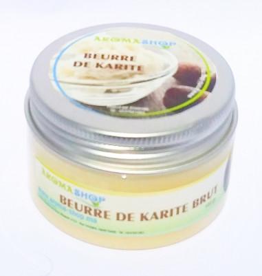 Beurre végétale de KARITÉ Brut Bio 100 G