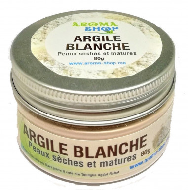 Argile Blanche 80 g