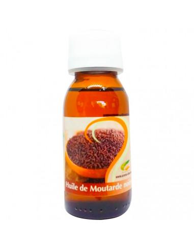 Huile Végétale MOUTARDE NOIRE 60 ml