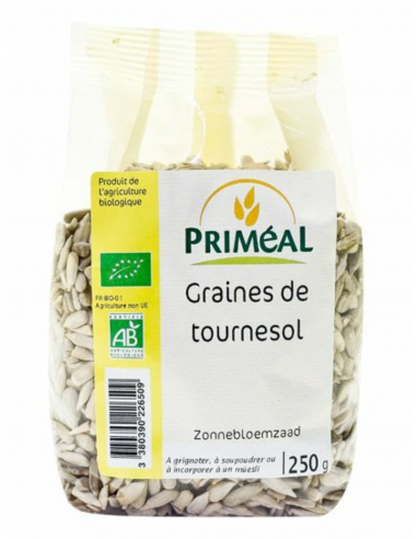 Graines de TOURNESOL 250 G PRIMEAL