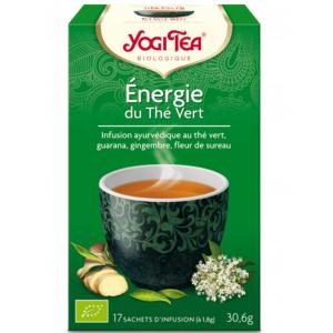 Énergie du Thé Vert YOGI...
