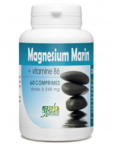 MAGNÉSIUM MARIN + Vitamine B6  60...