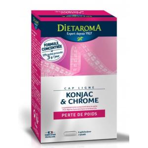 KONJAC & CHROME 42 Gélules...