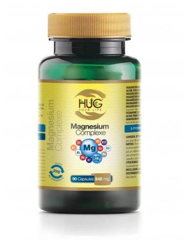 MAGNÉSIUM Complexe 90 Capsules Hug...